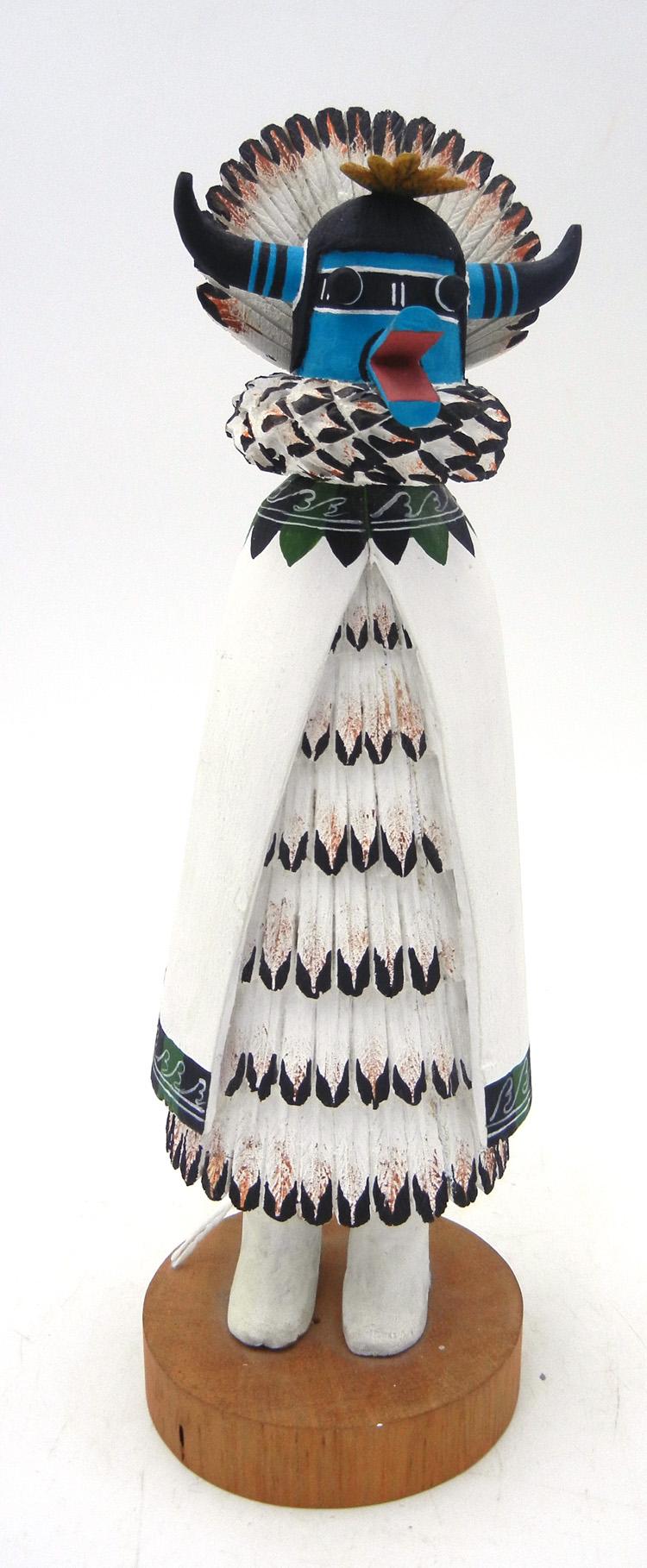 Hopi Shalako kachina in the Zuni style by Edwin Myers