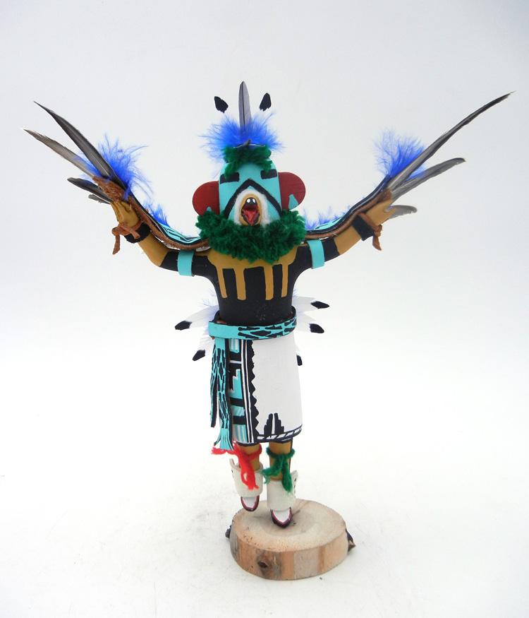 Jemez eagle kachina by Paul Gachupin