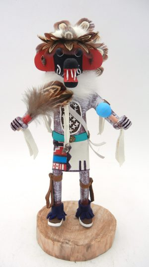 Navajo Ogre kachina doll by Arvin Morris