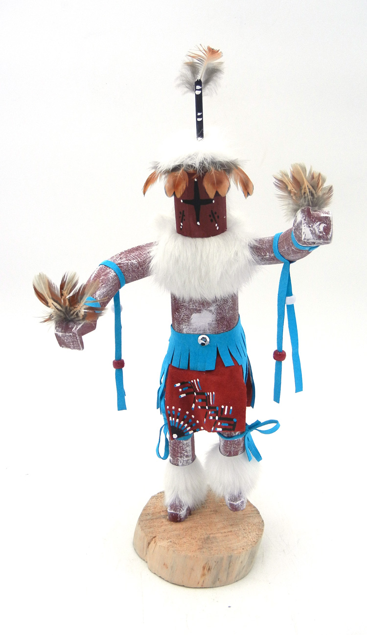 Navajo Chasing Star Kachina by Bessie Kee