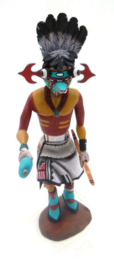 "Hopi Homahtoi ""Angry"" Kachina Doll by Watson Namoki"