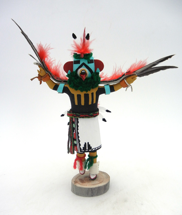 Jemez eagle kachina doll by Paul Gachupin