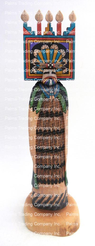 Hopi/Laguna Shalako Maiden kachina doll by Raphael Jose