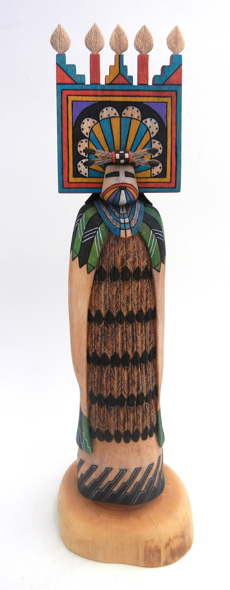Hopi/Laguna Shalako Maiden kachina doll by Raphael Jose