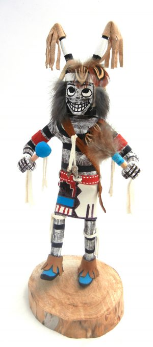 Navajo clown (koshare) kachina by Arvin Morris