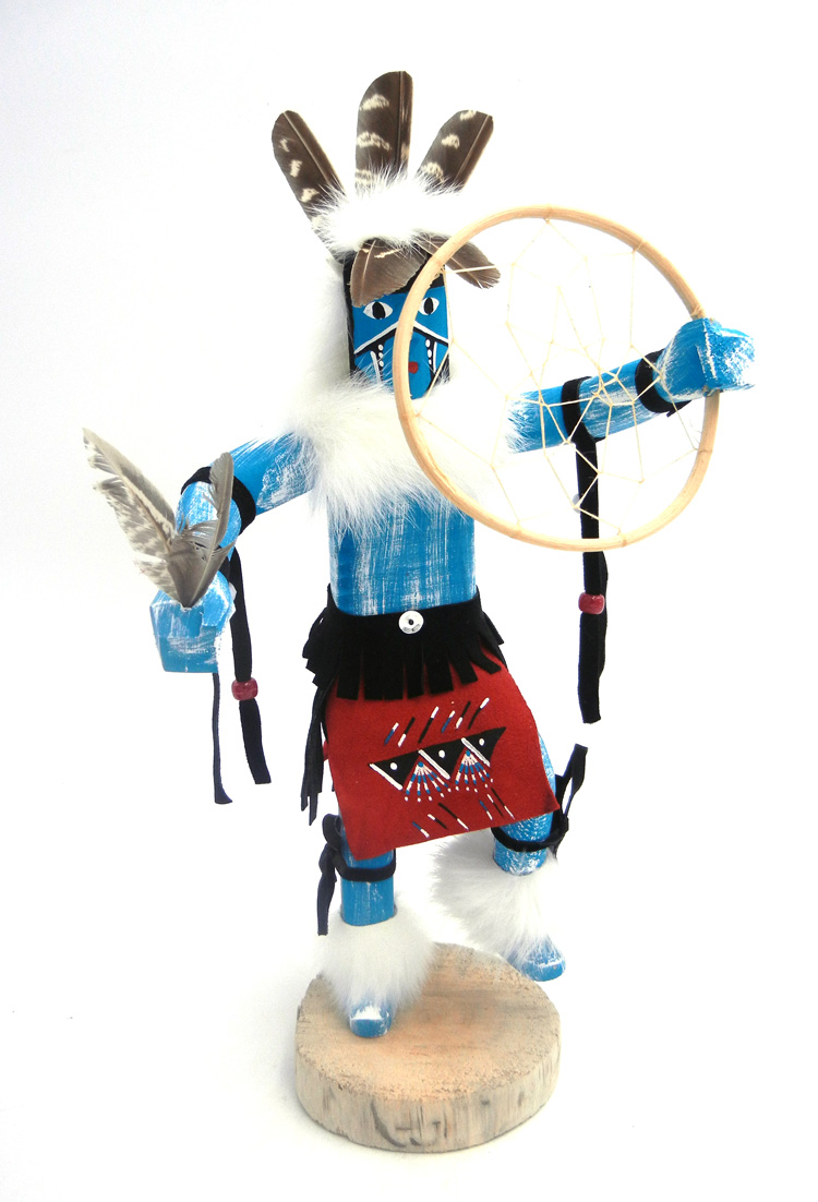 Navajo dream catcher dancer kachina by Bessie Kee