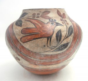 1930's Zia Olla with Parrot Design