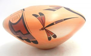 Hopi Squat Jar by Stetson Setalla
