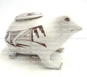 """Hopi Rare Effigy Frog by Joy Navasie """"Frogwoman"""""""