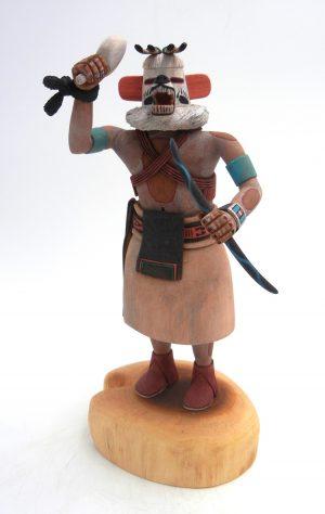 Hopi/Laguna White Bear kachina doll by Raphael Jose