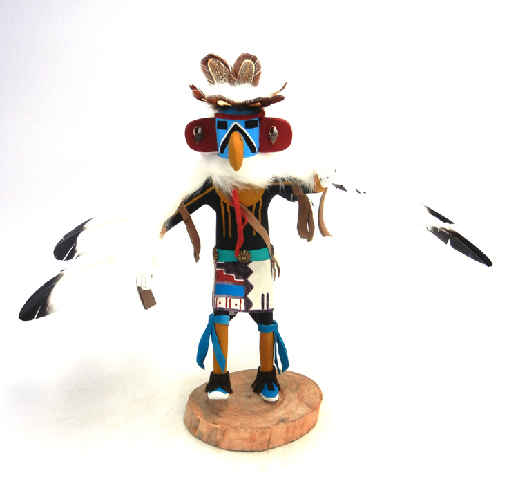 Navajo eagle kachina doll by Arvin Morris