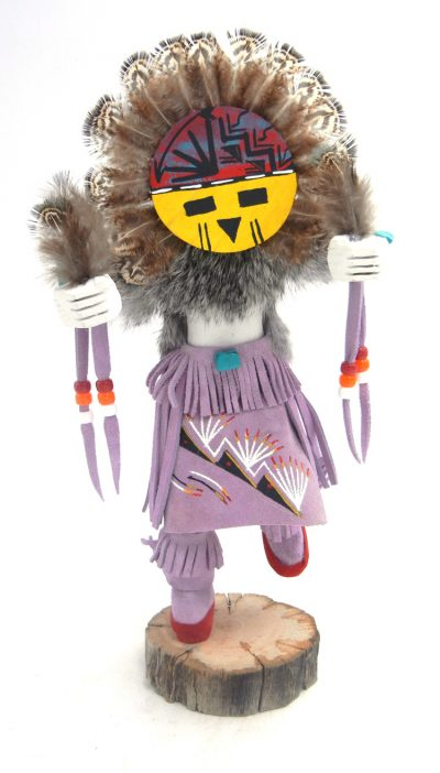 Navajo sunface kachina doll by Victor Abeita