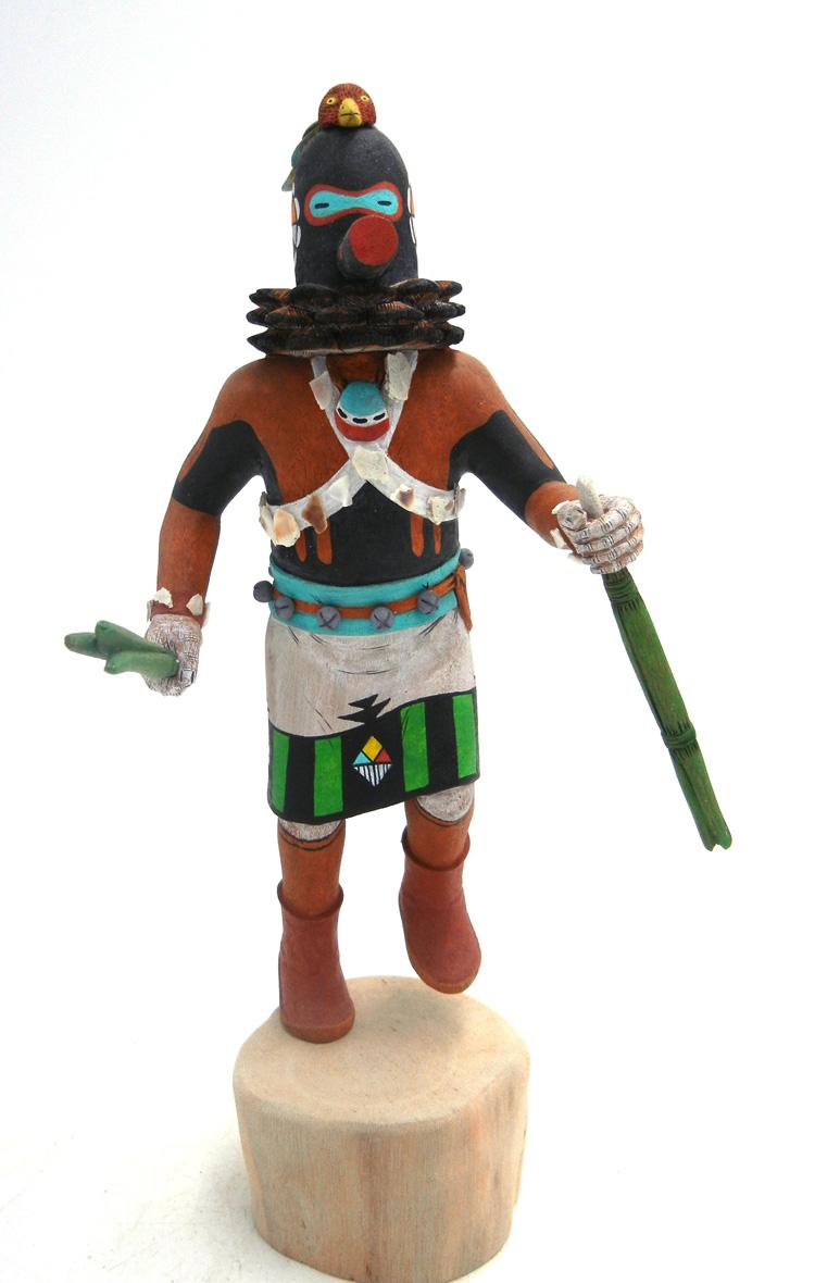 Hopi Sipikne, or Guard, Kachina doll by Andrew Sahmie