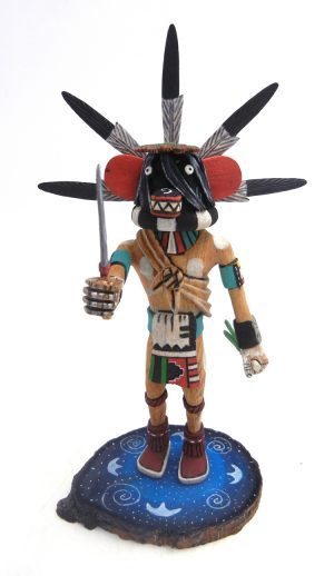 Hopi/Laguna Ogre kachina doll by Ray Jose