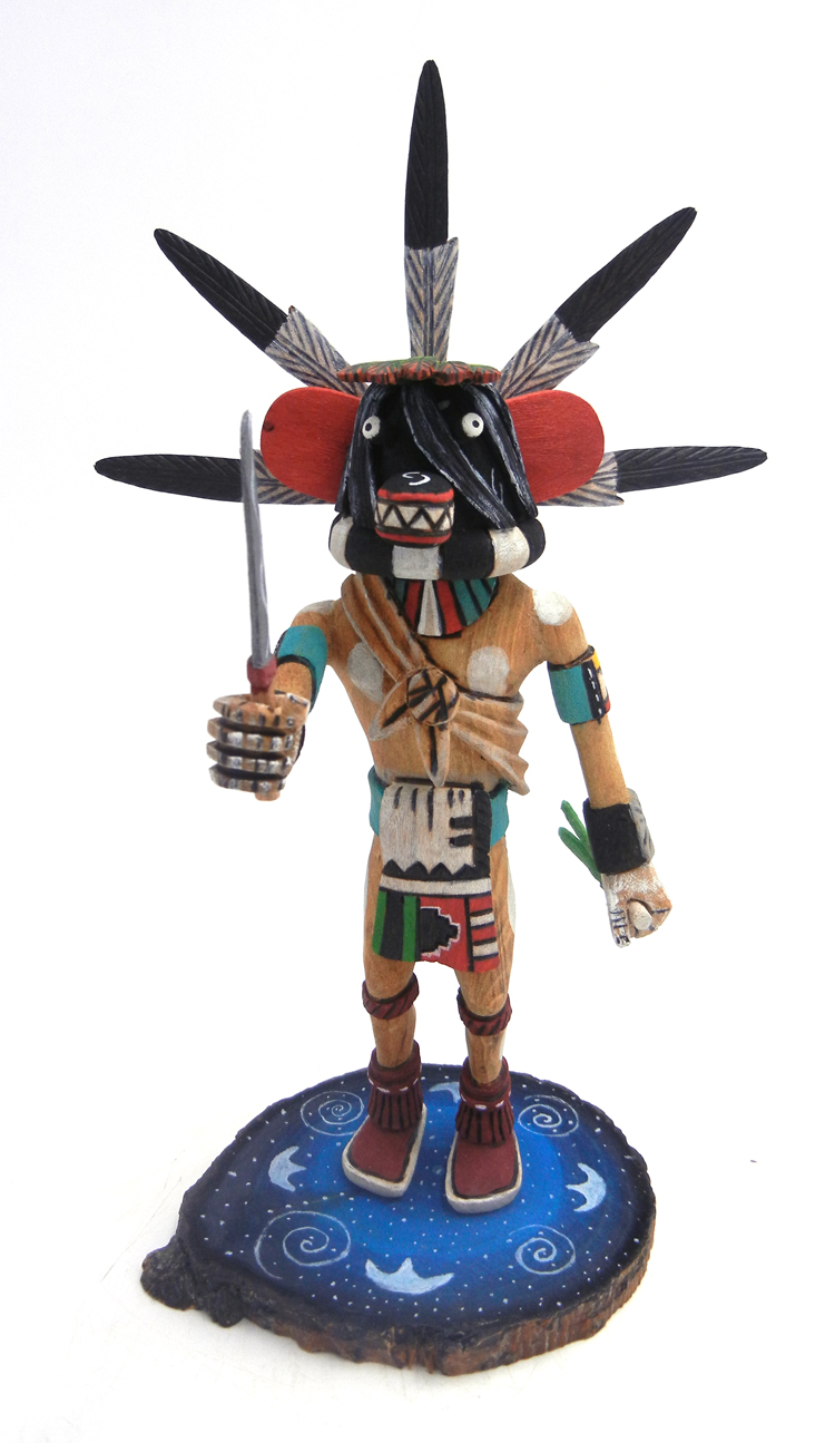 Hopi/Laguna Ogre kachina doll by Ray Jose