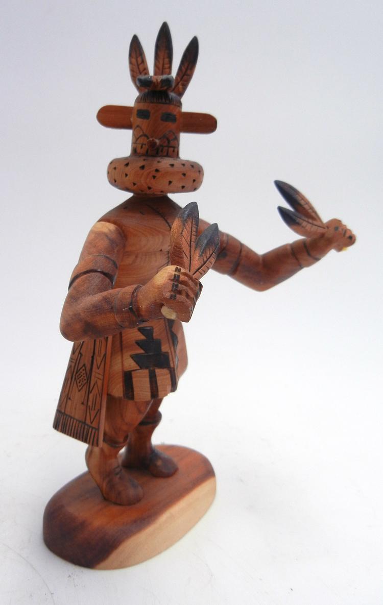 Navajo Morning Singer kachina doll by Robert Platero