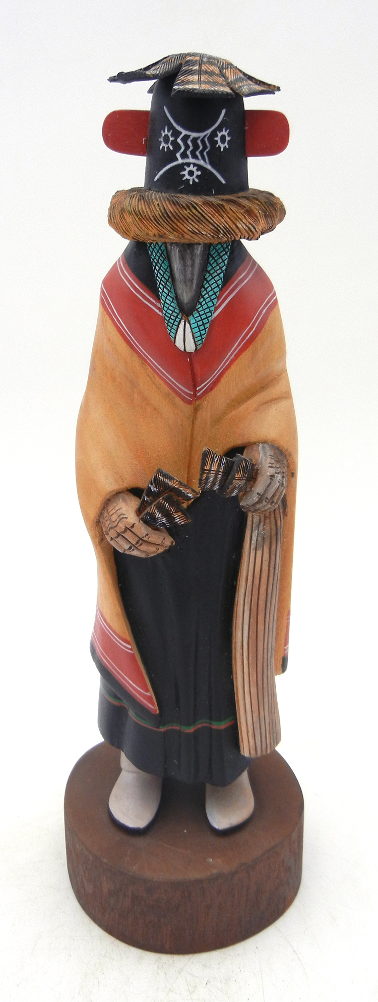 Hopi Zuni Maiden kachina doll by Wilmer Kaye