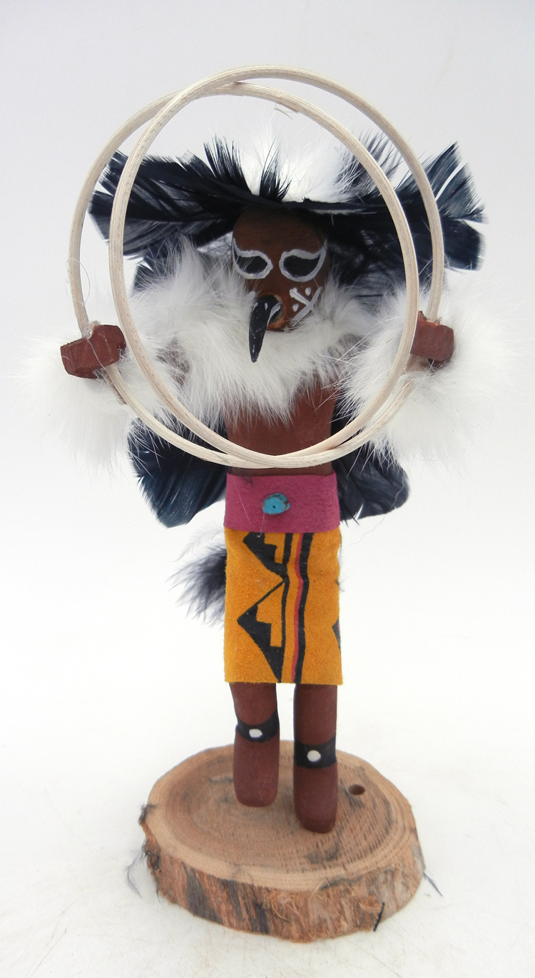 Navajo hoop dancer kachina by Victor Abeita