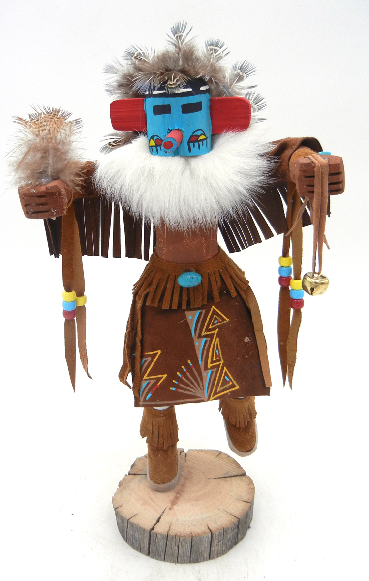 Navajo Morning Singer kachina doll by Victor Abeita