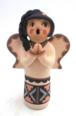 Jemez handmade angel figurine by Chrislyn Fragua
