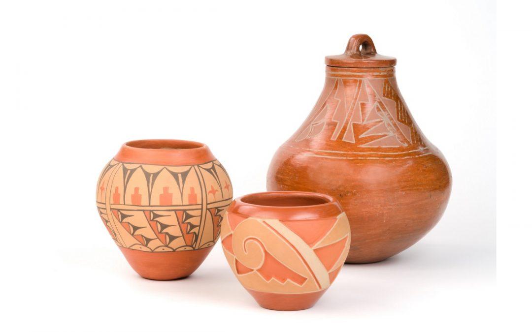 Blue Corn and Pueblo Pottery