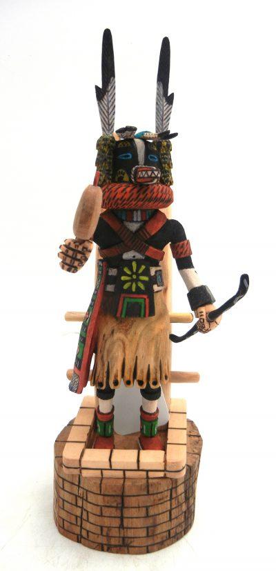 Hopi/Laguna Badger kachina doll by Ray Jose
