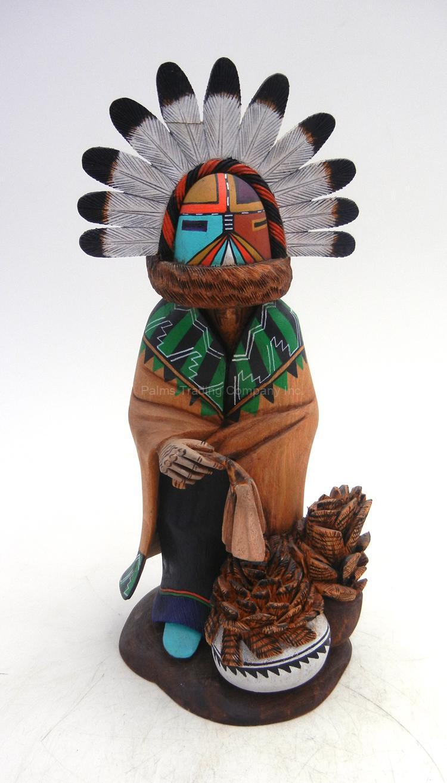 Hopi Cloud Guard Kachina Doll by Wilmer Kaye