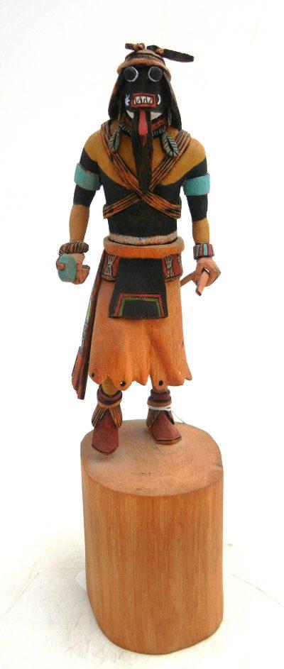 Hopi Chakwaina (Estevan the Moor) Kachina Doll by Arnold Youvella Jr