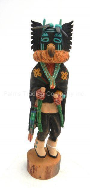 Hopi Crow Kachina Doll by Marlon Huma