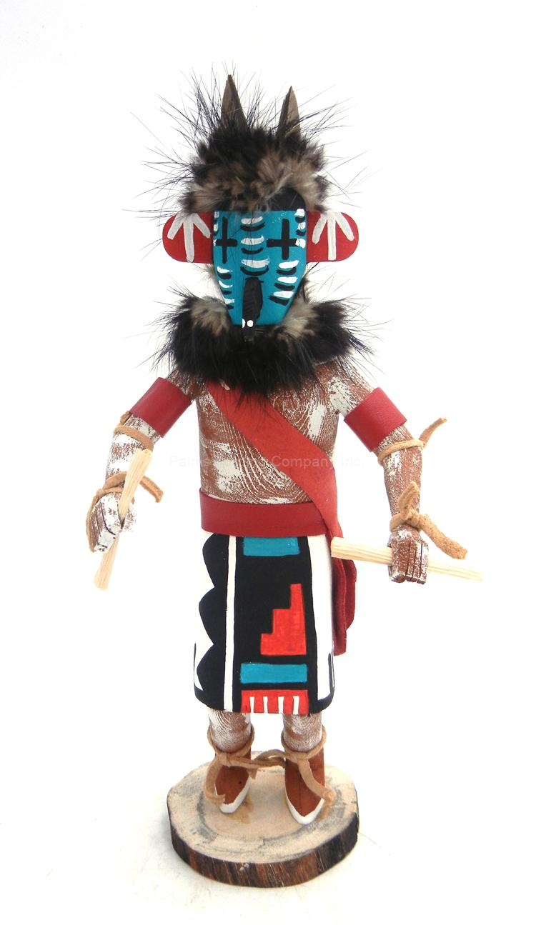 Navajo roadrunner kachina doll