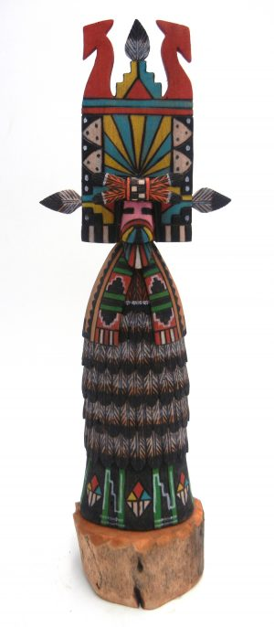 Hopi double sided Shalako kachina doll by Ray Jose