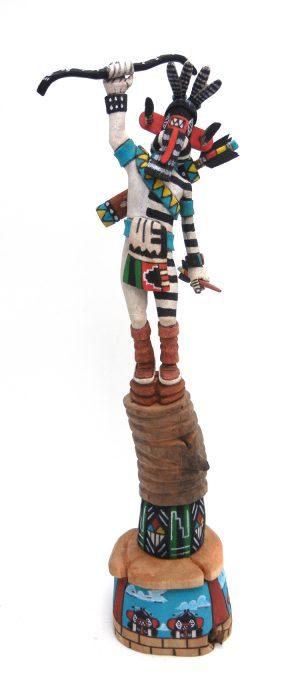 Hopi/Laguna left handed kachina doll by Ray Jose